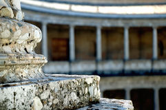 Römisches Spaltethema, Nahaufnahme, A Stockfotos