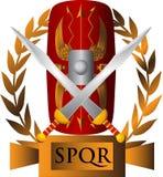 Römisches Symbol Stockbild