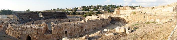 Römisches Theater stockfoto