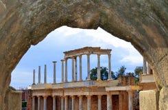 Römisches Theater Stockfotos