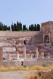 Römisches Theater in Cartagena Stockfotografie