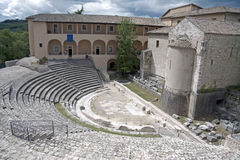 Römisches Theater, Italien Stockfotografie
