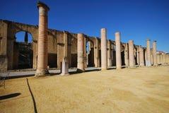 Römisches Theater, Santiponce, Spanien. lizenzfreies stockbild