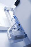Röntgenstråleenhet i sjukhuset Fotografering för Bildbyråer