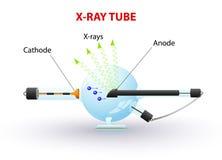 Röntgenstrålerör Arkivfoto