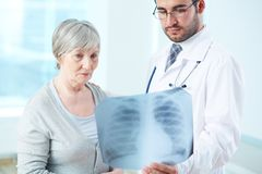 Röntgenstraalresultaten Stock Afbeeldingen