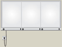 Röntgenstrahl verschalt Monitor stock abbildung
