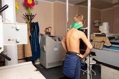 Röntgenstrahlraum lizenzfreie stockfotos