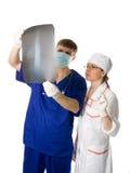 Röntgenstrahlresultate Lizenzfreie Stockbilder