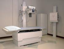 Röntgenstrahltabelle Stockfotografie