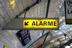rör för alarmsignalering Royaltyfria Foton