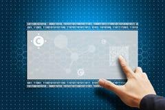 rör för nano press för kolhandlcd smart royaltyfri foto