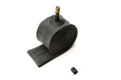 rör för rubber gummihjul Arkivfoton