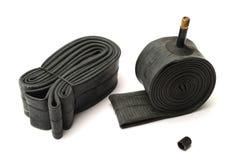 rör för rubber gummihjul Arkivfoto