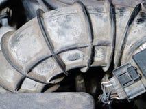 Rör från inre av en bil Royaltyfri Foto