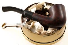 Rör med tobak Royaltyfri Foto