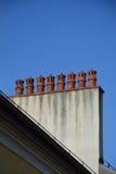 Rör på taket Fotografering för Bildbyråer
