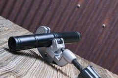 Rör-skärare metall, tenn Royaltyfri Fotografi