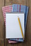 Röra sig i spiral anteckningsboken Royaltyfri Bild