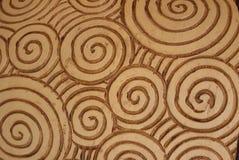 röra sig i spiral mönstrar Arkivbild