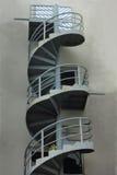 Röra sig i spiral trappuppgången Royaltyfria Bilder