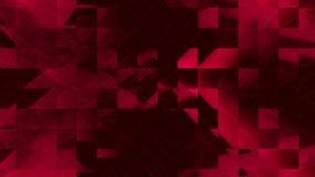 Rörande längd i fot räknatbakgrund för rött PIXEL royaltyfri illustrationer