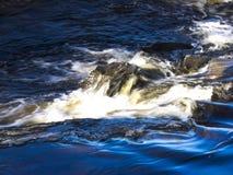 Rörelse av vatten royaltyfri foto