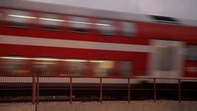 Rörelse för passageraredrev stock video
