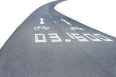 Rörelse för vägcyklister Arkivfoton