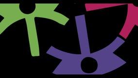Rörelsediagram som kugghjul lager videofilmer