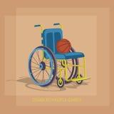 Rörelsehindrade sportlekar Fotografering för Bildbyråer