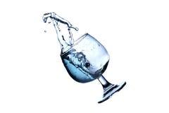 Rörelsen av vatten Arkivfoto