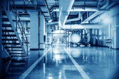 Rörledning för industriell zon Royaltyfria Foton