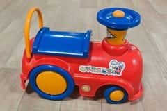 Rörlig sidosikt för leksak Royaltyfria Foton