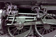 rörliga gammala stänger ångar hjulet Royaltyfri Bild