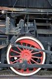 rörligt gammalt hjul Arkivfoton