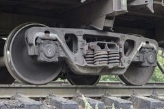 rörligt stål för drevhjul arkivfoton