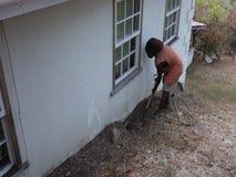 Rörmokeri i de lovart- öarna stock video