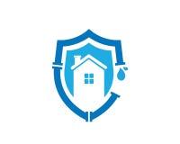 Rörmokeri Logo Template Design Vector, emblem, designbegrepp, idérikt symbol, symbol Arkivbild