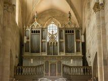 Rörorgan av helgonet Michael Cathedral Arkivfoto