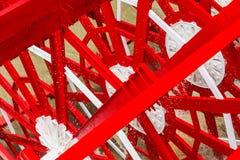 Rört skovelhjul av Paddleboat Royaltyfri Bild