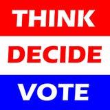 rösta Arkivfoto