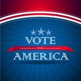 Rösta för Amerika Royaltyfria Bilder
