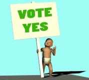 rösta ja Royaltyfri Bild