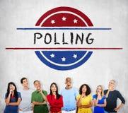 Röstar regerings- folkomröstningdemokrati för politik begrepp royaltyfria foton