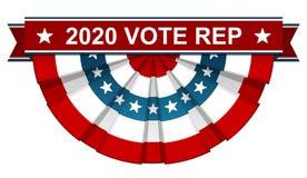 2020 röstar tekniker vektor illustrationer