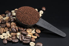 Rösten Sie Kaffee Lizenzfreie Stockfotografie