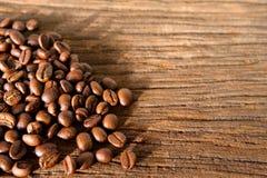 Röstkaffeebohnen stockfotografie