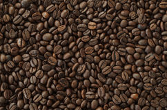 Röstkaffeebohnen, Hintergrundbeschaffenheit Lizenzfreies Stockbild