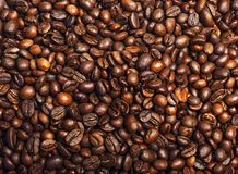 Röstkaffeebohnen können als Hintergrund benutzt werden Lizenzfreies Stockbild